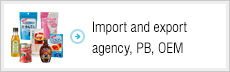 Import and export agency, PB, OEM